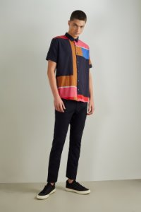 CAMISA MC COLOR BLOCK RESERVA
