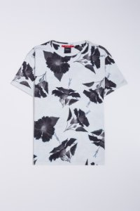 CAMISETA FULLPRINT HIBISCO BLACK RESERVA