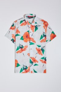 CAMISA HIBISCOS COLOR MC RESERVA