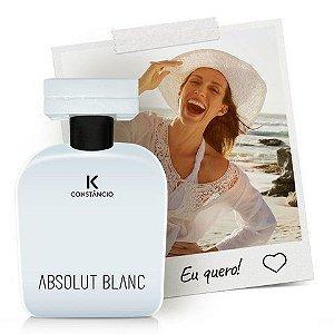 Absolut Blanc deo colônia desodorante 100ml Kconstâncio .
