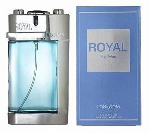 Perfume Royal For Men Lonkoom Masculino Eau de Toilette 100ml