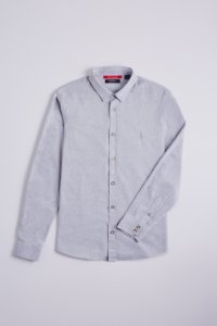 CAMISA REGULAR CHAMBRAY ML VER20