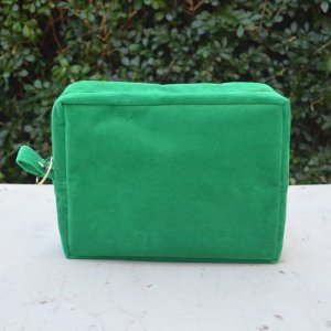 Necessaire Plush Verde - Grande