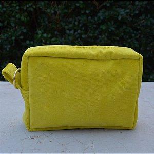 Necessaire Plush Amarela - Pequena