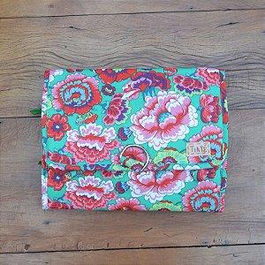 Necessaire Bag Verde Floral