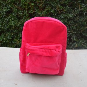 Mochila em Plush Pink - Grande