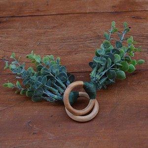 Porta Guardanapo Folhas Eucalipto - 2 peças