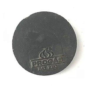Espalha Chama Ferro Fundido Chama Simples 100mm Pintado