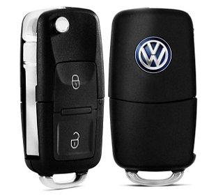 Chave Canivete Volkswagen Com 2 Botões