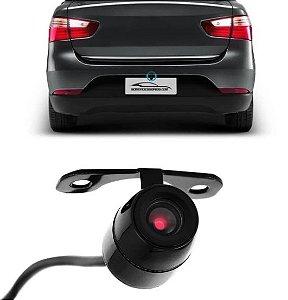 Câmera De Ré Universal Borboleta Placa Para-choque Sensor