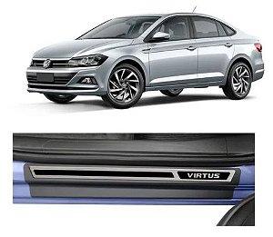 Soleira Volkswagen Virtus Original - Aço Escovado