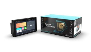 Central Multimidia Universal com Android - Faaftech