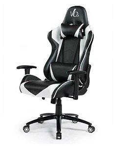 Cadeira Gamer Branca e Preta - Vo6 - 12x Sem Juros
