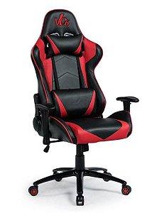 Cadeira Gamer Vermelha e Preta - Vo6 - 12x Sem Juros