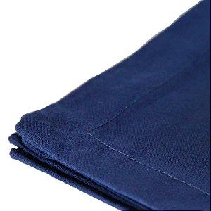 Conjunto 03 Guardanapos Royal Algodão Azul Escuro 40x40cm