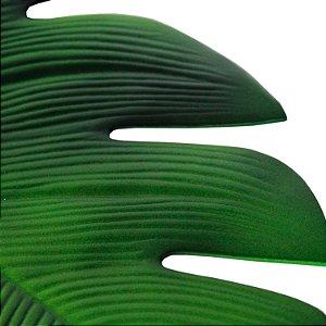 Lugar Americano de EVA Folha Verde 46cm