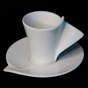 Conjunto de 06 Xícaras para Café em Porcelana Wolff Lyon 65ml