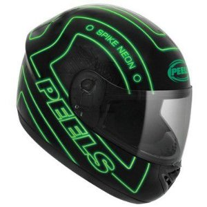 Capacete Spike Neon Verde