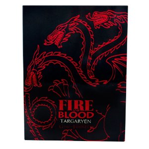 QUADRO METAL 26X20 FIRE BLOOD