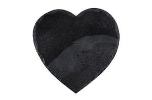 Prato de Ardósia Coração Rústico 30cm