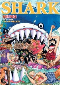 Artbook ONE PIECE Eiichiro Oda Illustration COLOR WALK 5 SHARK (Jump Comics Deluxe) (Encomenda)