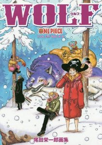 "ONE PIECE Oda Eiichiro Art Book ""COLOR WALK"" 8 WOLF (Encomenda)"