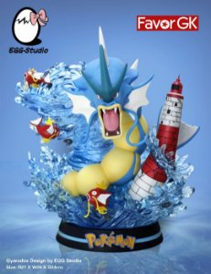 Figure Gyarados - Pokemon Resin Statue - EGGS Studios (Pre-Order)