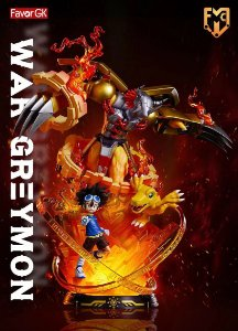 Figure WarGreymon With LED - Digimon Resin Statue - 1/6 Scale - MFC Studios (Pre-Order)