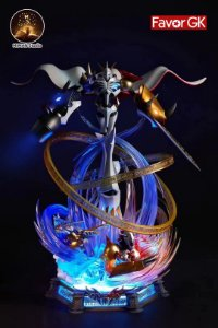 Figure Omegamon with LED - Digimon Resin Statue - MIMAN Studios (Pre-Order)