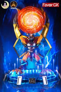 Figure War Greymon with LED - Digimon Resin Statue - Moon Shadow Studios (Pre-Order)