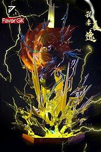 Figure Zenitsu Agatsuma with LED - Demon Slayer: Kimetsu no Yaiba Resin Statue - JK Studios (Pre-Order)