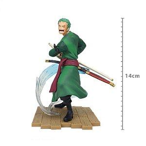 Figure One Piece - Roronoa Zoro - Log File Selection Fight (Pronta Entrega)