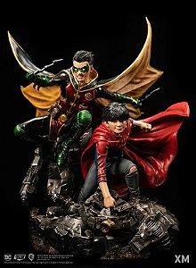 DC Premium Collectibles Rebirth Series - Super Sons - Escala 1/6