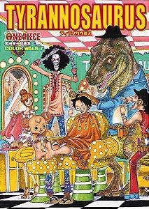 Artbook ONE PIECE Eiichiro Oda Illustration COLORWALK 7 TYRANNOSAURUS (Jump Comics Deluxe) (Encomenda)