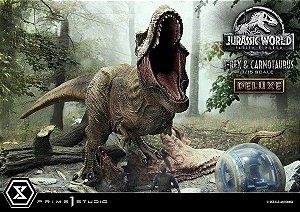 Legacy Museum Collection Series: Tyrannosaurus Rex & Carnotaurus Jurassic World: Fallen Kingdom Escala 1/15