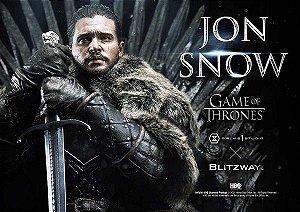 Ultimate Premium Masterline Series: Jon Snow from Game of Thrones - Escala 1/4