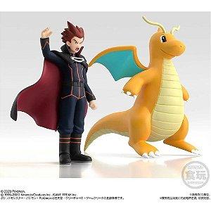 Pokemon Scale World - Lance & Dragonite Original Lacrado