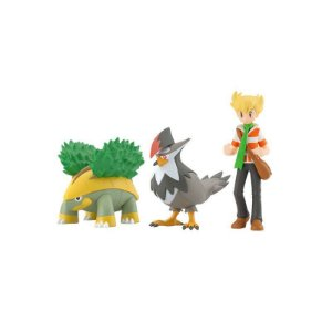 Pokemon Scale World Sinnoh Region - Jun & Grotle & Staraptor (Pre-Order)