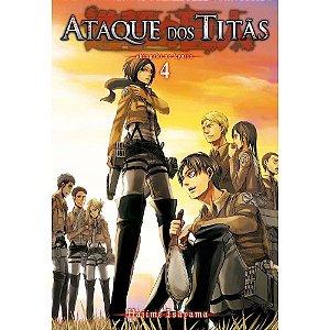 Ataque dos Titãs - Volume 4 (Lacrado)