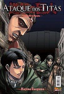 Ataque dos Titãs - Volume 5 (Lacrado)