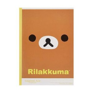 Caderno Rilakkuma face Logical Air