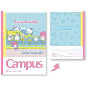 Caderno Sanrio Characters