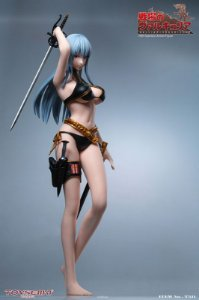 Valkyria Chronicles Selvaria Bles 1/6 Seamless Action Figure (Pre-order)
