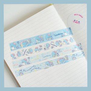 Washi Tape (Fita Decorativa) Tuxedosan (unid.)