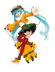 Tiendamia Taito Prize Hatsune Miku Figure Original Autumn Fall Outfit Cloth Ver. Renewal