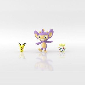 Scale World Pokémon Pichu, Aipom e Togepi