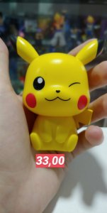 Pikachu Big Head Gashapom