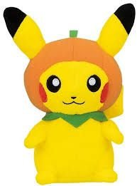 Banpresto Pokemon Halloween Pumpkin Hat Pikachu 5