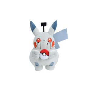 Pikachu Robot Plush