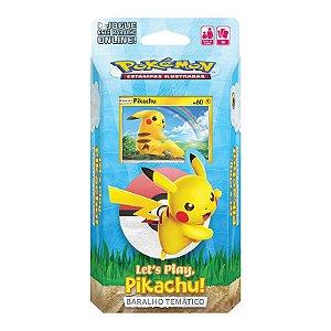 Baralho temático - let's play Pikachu